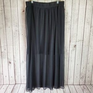 Lane Bryant Sheer Maxi Skirt 18/20
